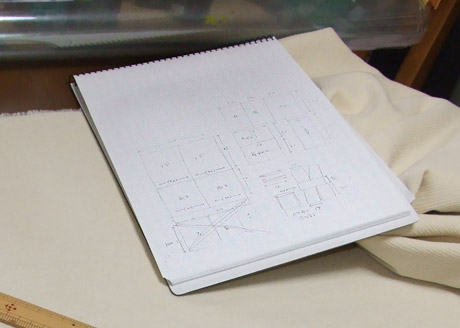 コスプレ衣装(ジェダイのチュニック)設計