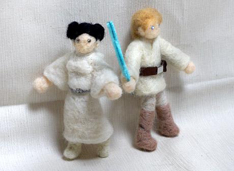 スターウォーズ人形ルークとレイア01