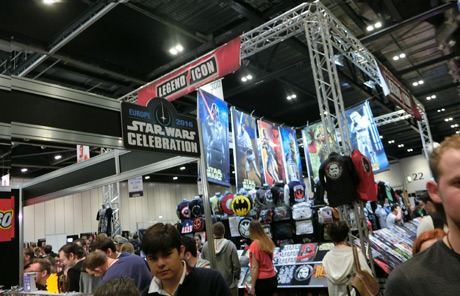 STARWARS CELEBRATION LONDON �X�^�[�E�H�[�Y�Z���u���[�V����