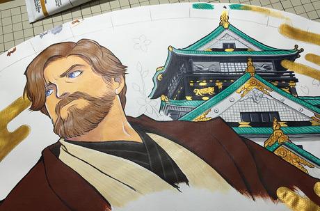 スターウォーズ オビワン 扇子 starwars obiwan kenobi