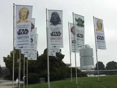 STARWARS identities Munich ミュンヘン2016年スターウォーズエキシビジョン会場