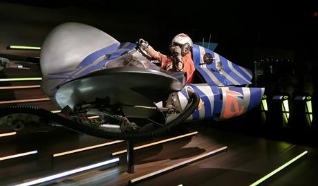 STARWARS identities Munich ミュンヘン2016年スターウォーズエキシビジョン アナキンのポッドレーサー